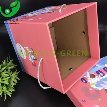 Custom Logo Printed Lid-off Type Paper Gift Box,Gift Box Packaging