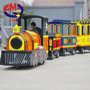 New design kids mall rides electric trackless train for sale