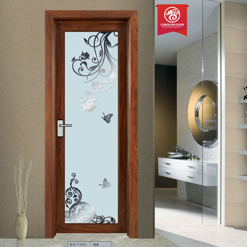 Modern New Style Aluminium Door Bathroom Glass Door Price Buy Glass Door Pr