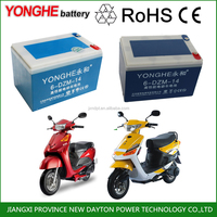 electric bike car lead acid rechargeable battery pack 48v 6-dzm-24 12v 24ah