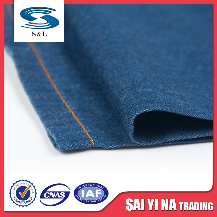 Different types flame retardant pure cotton denim fabric directly sale