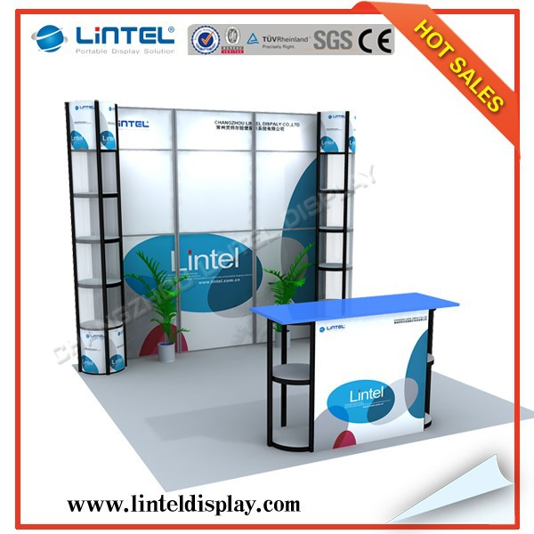 Exhibition Booth Materials : Ft recyclable exhibition stand booth