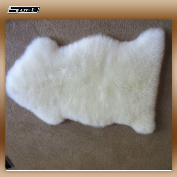 clean-cut finish ROOM BOARD Sheepskin LARGE RUG 60x90cm