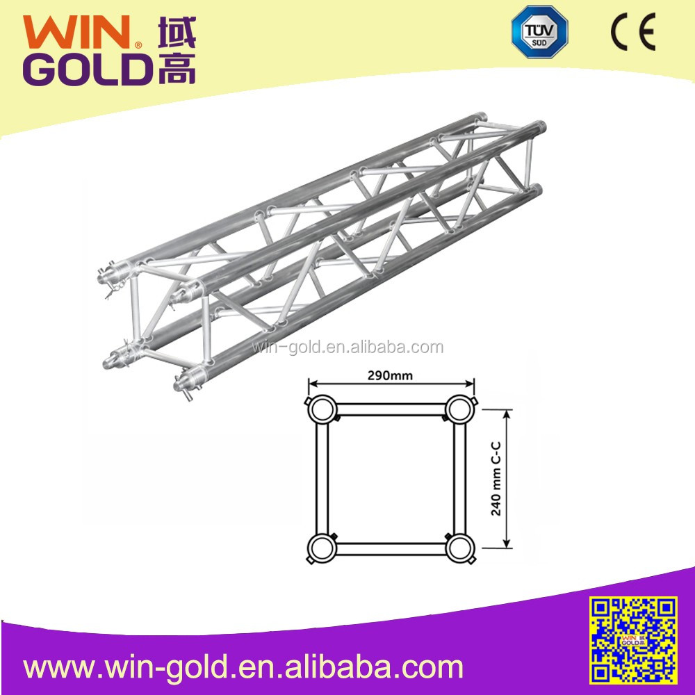Promotional Aluminium mini Truss / 100*100mm decoration light truss