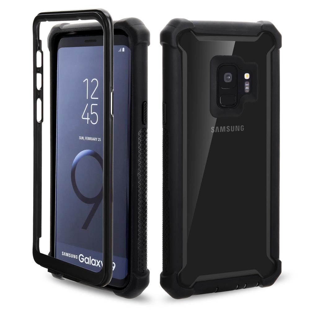 3 in 1 Custom Shockproof Hybrid Phone Case For Samsung Galaxy S9 Case Phone - ANKUX Tech Co., Ltd