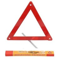 red safety reflective warning triangle for emergency JM-006-01