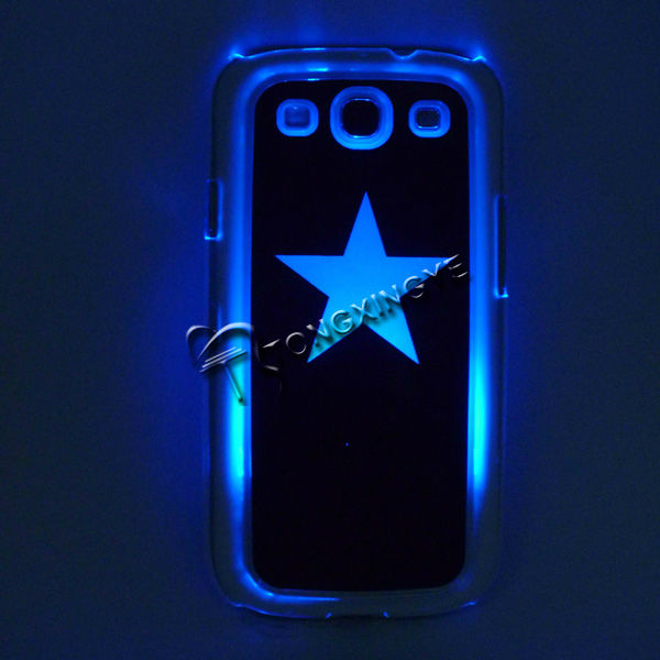 2013,New arriving LED bling bling case for samsung galaxy s2,logo available