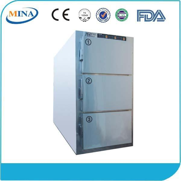 MINA-HH02C Stainless Steel body mortuary refrigerator price