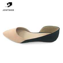 New Design Fashion Flat Heel Casual Pumps Women Dress Shoes