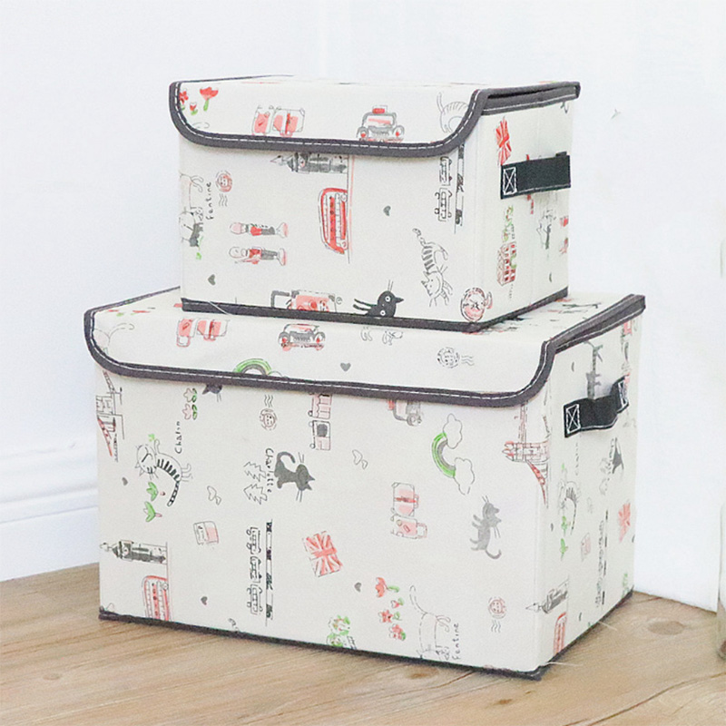 2019 Factory Waterproof Sets Underbed Home Storage Box with Cover