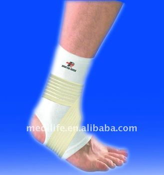 medical orthopedic Elastic Ankle Support With Bandage