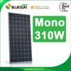 Rooftop Mono 300W BluesSunpower 12V 300 Watts Solar Panel For Home or Commercial