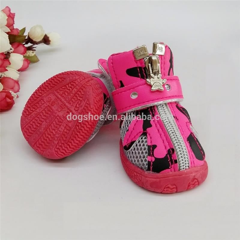 JML New Arrival Fashion Best Dogs Boots with Rubber Sole PU Leather Dog Shoes