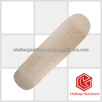 Chinese maple skateboads Old school deck