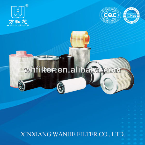 Replacement of Ingersoll rand filter element made in xinxiang wanhe filter