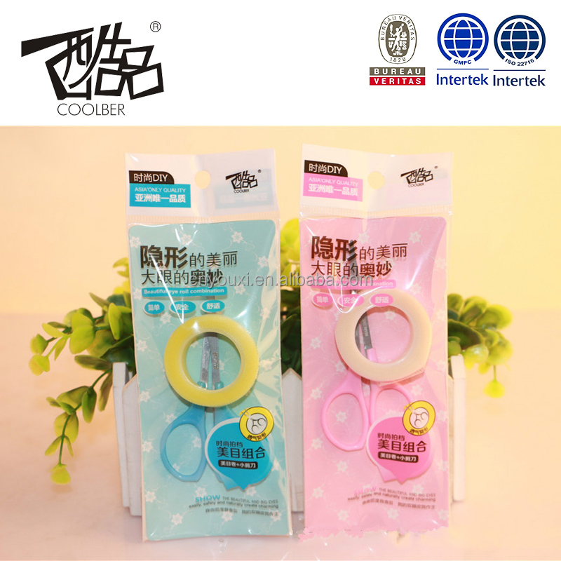 Roller type magic dhouble eyelids tape adhesive tapes for double eyelids