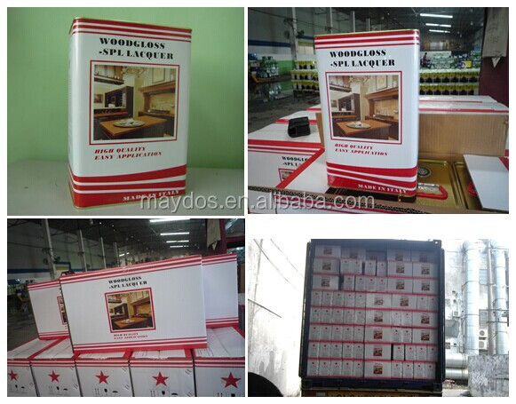 Maydos Polyurethane Wood Lacquer For Furniture(China Top Quality Wood Paint)