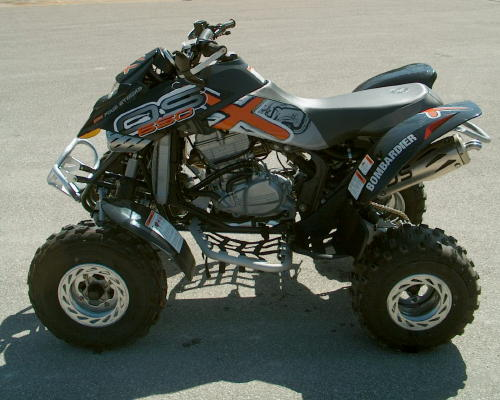 NEW 2005 DS 650 BAJA-X BOMBARDIER ATV BAJA X Quad DS650
