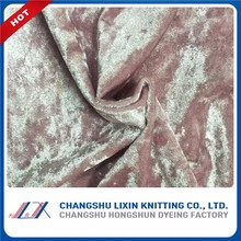 China Products Quality Certification 2017 Spandex Velvet Clothes Changshu Manufacturer