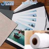 Inkjet printed waterproof double sided photo paper