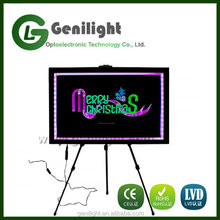 Children's LED light up drawing/writing boards with remote control
