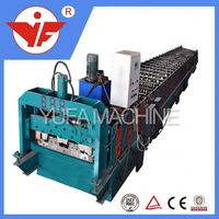 Portable metal roofing galvanized steel sheet decking floor roll forming machine for sale