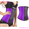 Big Stock Slimming Purple Latex Corset Waist Trainers Women