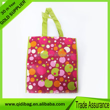 100% Trade Assurance non woven shopping bags cute kids tote bag