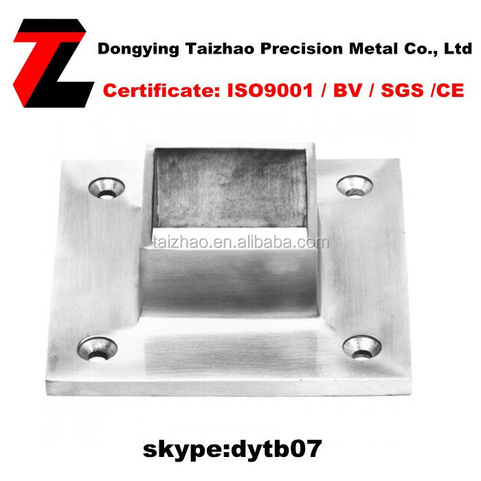 BEST SELLING SQUARE BASE FLANGE FOR 40 x 40mm POST