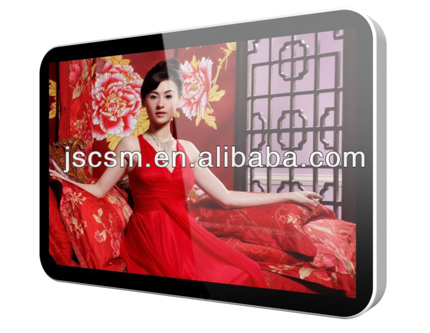 cheap 22 inch advertising display lcd tv with HD display (android model available)