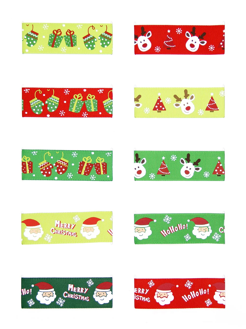 Personalized Design Your Own Ribbon Print 1 Inch Christmas Printed Grosgrain Ribbon