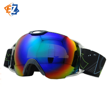 Factory Direct Sale Spherical Mountain Double Layer Anti-Fogging Ski Goggles