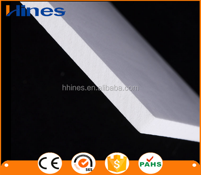 High density frosted PVC sheet
