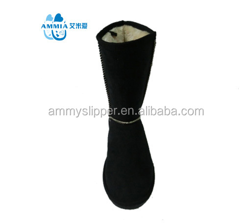 OEM women indoor outdoo warm Customized terry good home winter boots winter high quality warm TPR boots