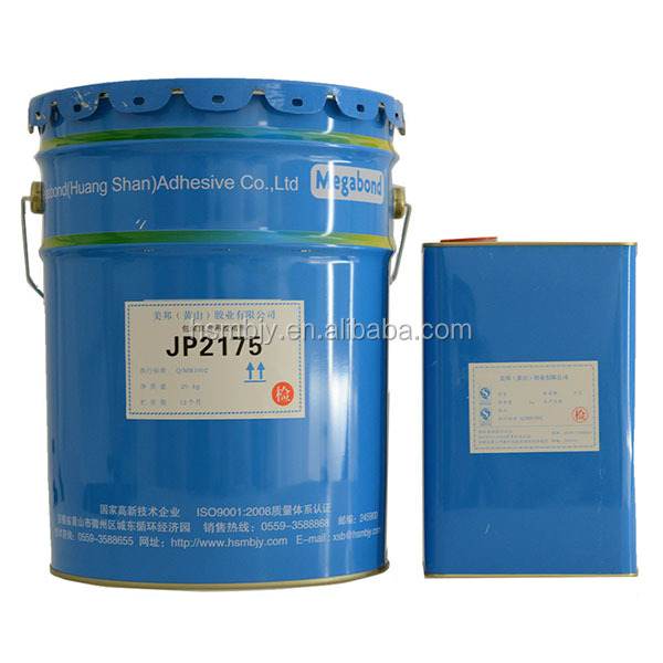 Two component pu glue high quality bonding boiling type adhesive glue