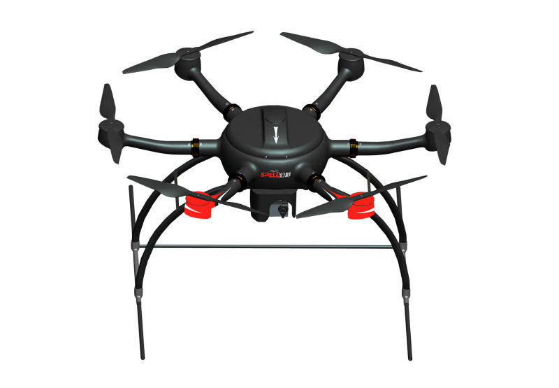 UAV hexacopter with easy to use autopilot