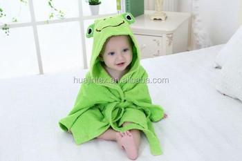 Baby Hooded Bath Towel With Bamboo Organic Cotton body towel