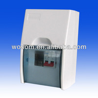 Power Distribution Box with Main switch abs material plastic electrical box