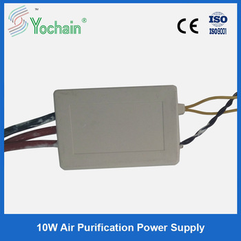 10w high frequency electrostatic precipitator regulated power supply for air purifier