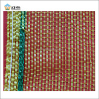Brand name 30x60cm potato mesh bags with strong woven drawstring