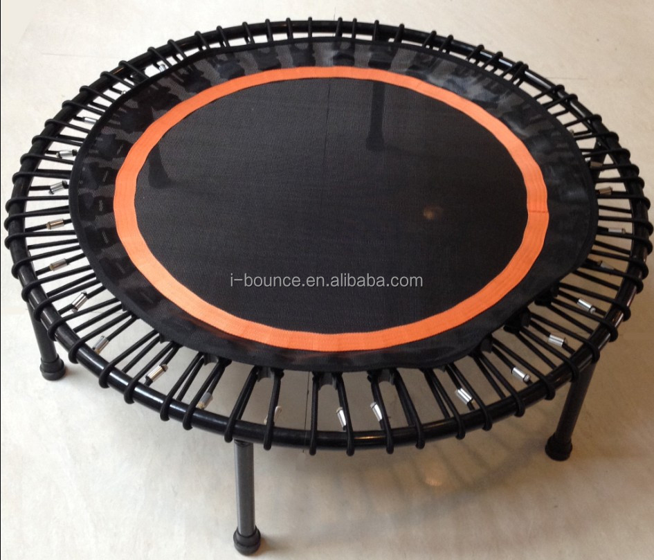 40inch Mini Trampoline with bungee cord suspention spring free