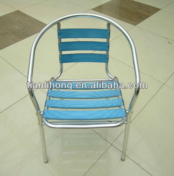 2013 HOT SALE colored aluminum chair