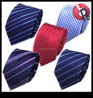 mens 100% silk necktie woven neck ties silk jacquard woven tie pattern waterproof