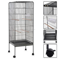 China supper high quality low price steel large parrot cage for sale