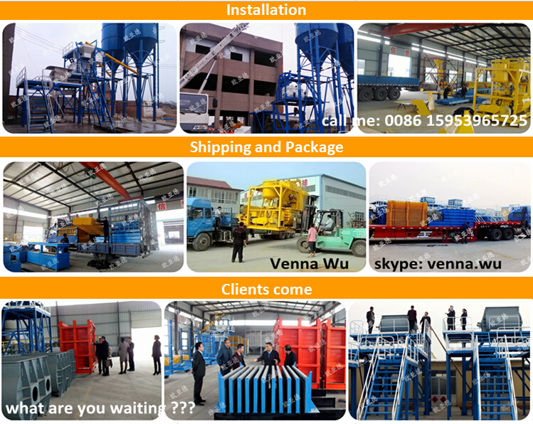 Prefab homes lightweight concrete/ precast concrete wall production line