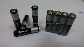 R03 Zinc Carbon primary dry battery