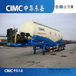 CIMC Manufacturer 50 CBM 60 Ton V Shape Cement Bulker For Sale In Pakistan