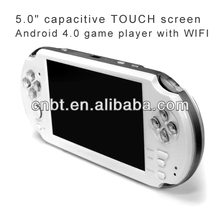 Hot seller design Android game consoles MP5 game players with Camera