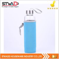 Cheap price custom hot sale bottle glass candle stwadd quality