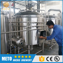 1000L micro beer brewing equipment,mash/lauter tun,brew kettle with 3 years warranty